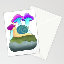 Snail Stationery Cards