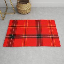 Red Plaid Rug