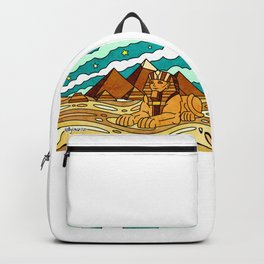 Pyramids & Sphinx of Giza Egypt Backpack