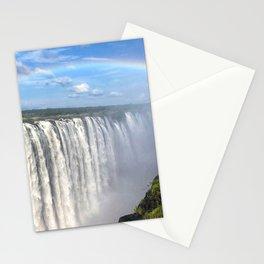 Victoria Falls , Africa, Zambia, Zimbabwe Stationery Cards