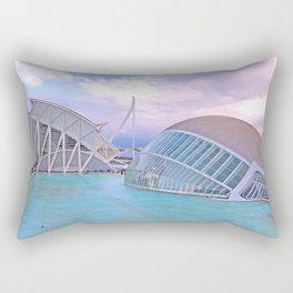 Parque das Artes e Ciencias. Valencia Rectangular Pillow