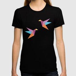 Pastel Paper Cranes T-shirt