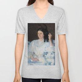 Cecilia Beaux - Sita and Sarita - Digital Remastered Edition Unisex V-Neck