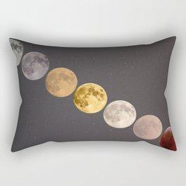 Many Moons Rectangular Pillow