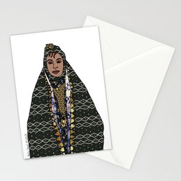 No Ban No Wall   Art Series - The Jewish Diaspora 009 Stationery Cards