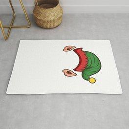 Elf Squad Funny Christmas Gift Holiday Season Rug