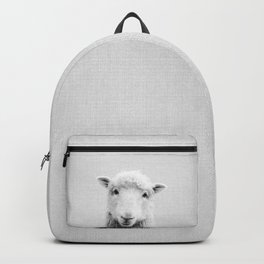 Sheep - Black & White Backpack