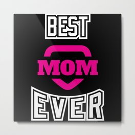 Mothers Day Design For Super Moms Metal Print