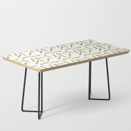 Pencils, Pencils Everywhere! Coffee Table