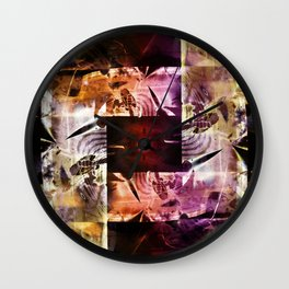 """Using The Right Angles 3"" Wall Clock"
