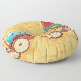 Bunyan's Day Out Floor Pillow