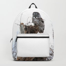 The great grey owl Backpack