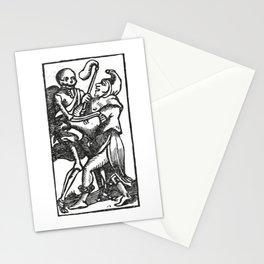 Death dancer Stationery Cards