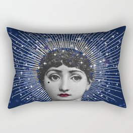Queen of Stardust Rectangular Pillow