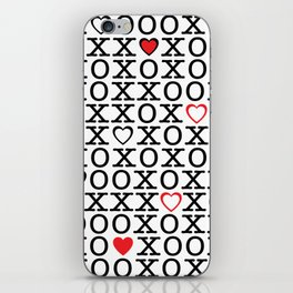 XOXOX iPhone Skin