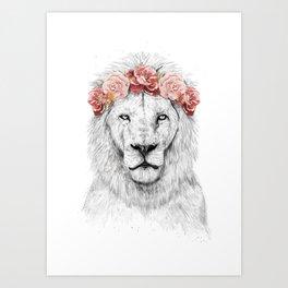 Festival lion Kunstdrucke