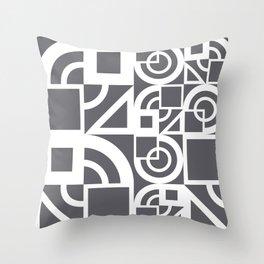 Bauhaus 39 Grey&White ed. Throw Pillow