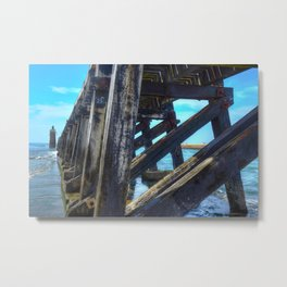 Capbreton bay Metal Print
