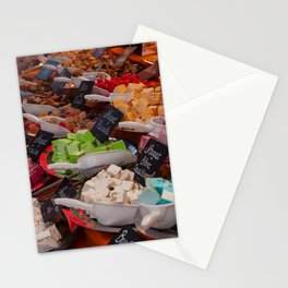 Delicious nougat Stationery Cards