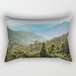 Blue Mountains Sydney Printable Wall Art | Australia Landscape Travel Photography Print Rectangular Pillow