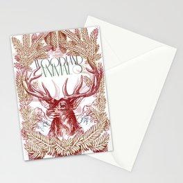 Woodland Animals Stationery Cards