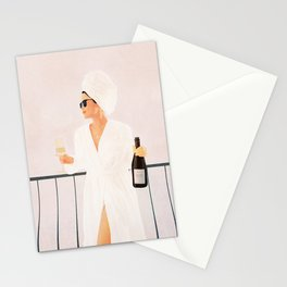 Morning Wine II Stationery Cards
