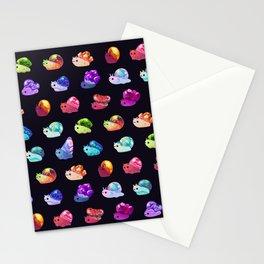 Jewel Snail Stationery Cards