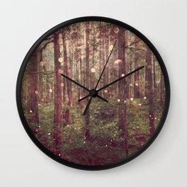 Autumn Lights Wall Clock