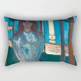 Edvard Munch - The Voice, Summer Night Rectangular Pillow
