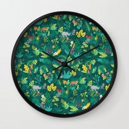 Sumatran Jungle Wall Clock