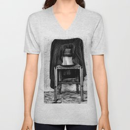 rustic chair Unisex V-Neck