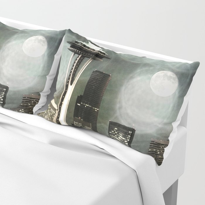Fifty Shades of Grey Space Needle Pillow Sham by Christine aka stine1