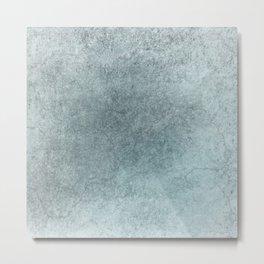 Soft Blue stucco Metal Print