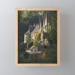 Not the manor Framed Mini Art Print