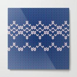 Scandinavian pattern Metal Print