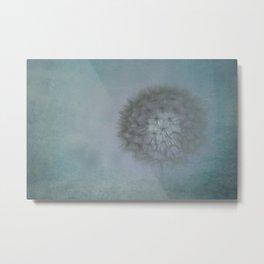 Dandelion Ghost Metal Print