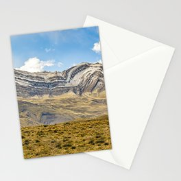 Snowy Mountains Patagonia Argentina Stationery Cards