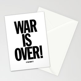 War Is Over - If You Want It Stationery Cards