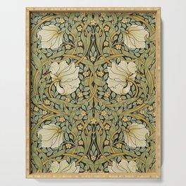 William Morris Pimpernel Art Nouveau Floral Pattern Serving Tray