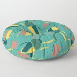 Exotic Beetle Floor Pillow