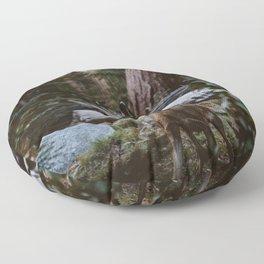 Sequoia Forest Deer Floor Pillow