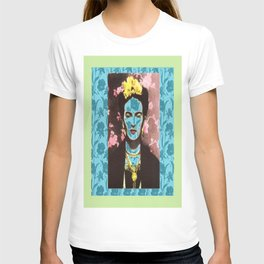 Frida Kahlo in Neon T-shirt