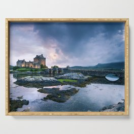 Scottish Castle III Serving Tray