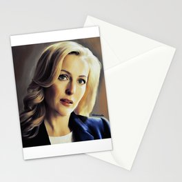 Stella Gibson oli color painting Stationery Cards