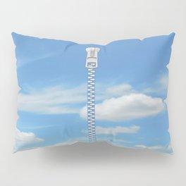 Zipper Pattern Sky Pillow Sham