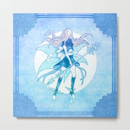 The Dream Faerie Metal Print