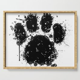Pawprint Love Serving Tray