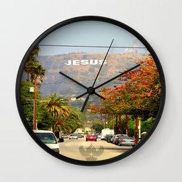 Make Jesus Famous Wall Clock