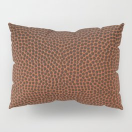 Football / Basketball Leather Texture Skin Pillow Sham