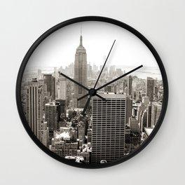 Static Empire Wall Clock